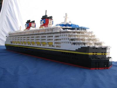 Lego Moc Disney Magic Cruise Ship