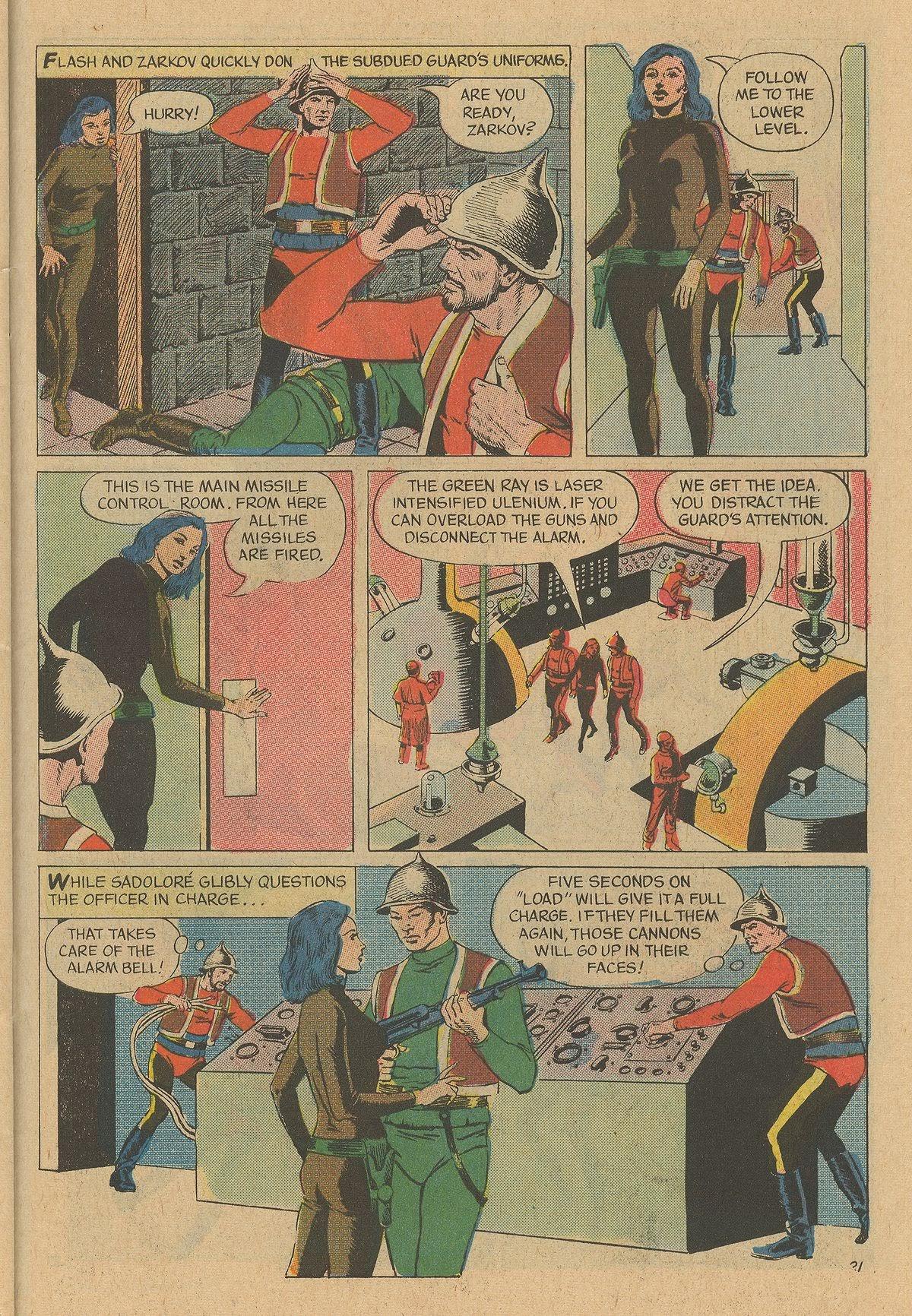 Flash Gordon (1969) issue 12 - Page 27