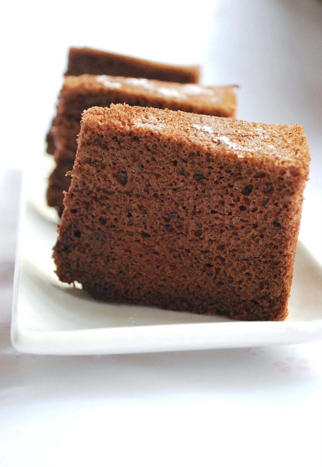 Sweets and Loves: Chocolate Chiffon Cake - My Favourite ...