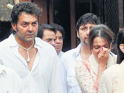 Latest News Bobby Deol Performs Billionaire Father In Law Devendra