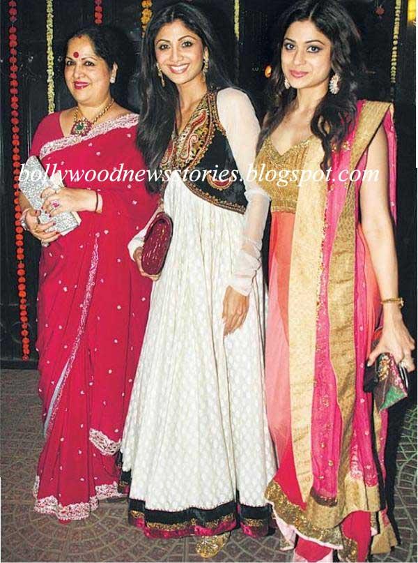 Latest News: Shilpa Shetty Kundra Diwali Bash/Party Pictures