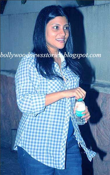 Latest News: Pictures of a Pregnant Konkona Sen Sharma ...