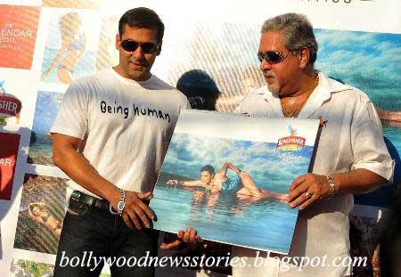 Latest News Salman Khan At Kingfisher Calendar Launch 2011
