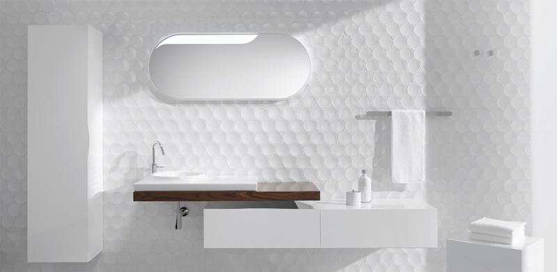 Bathroom Design Futuristic Bathroom Wall Cube Amp Dot By Kale