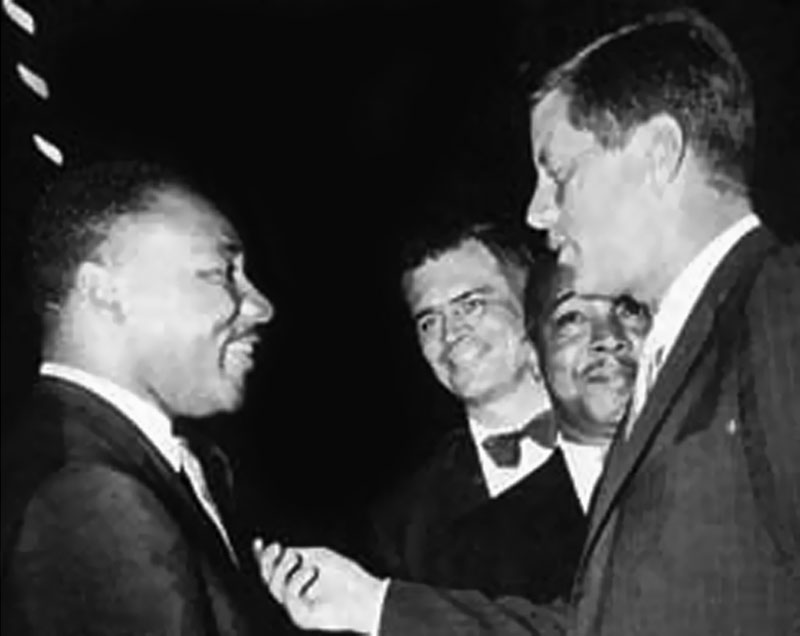 John and Robert Kennedy Martin Luther King Clip Art