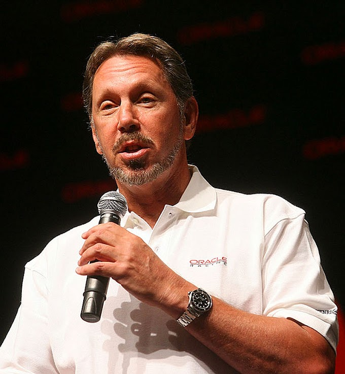 Larry Ellison fundó Oracle con $us 2.000