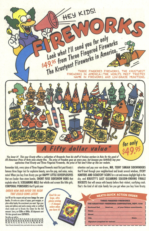 Read online Simpsons Comics comic -  Issue #21 - 22