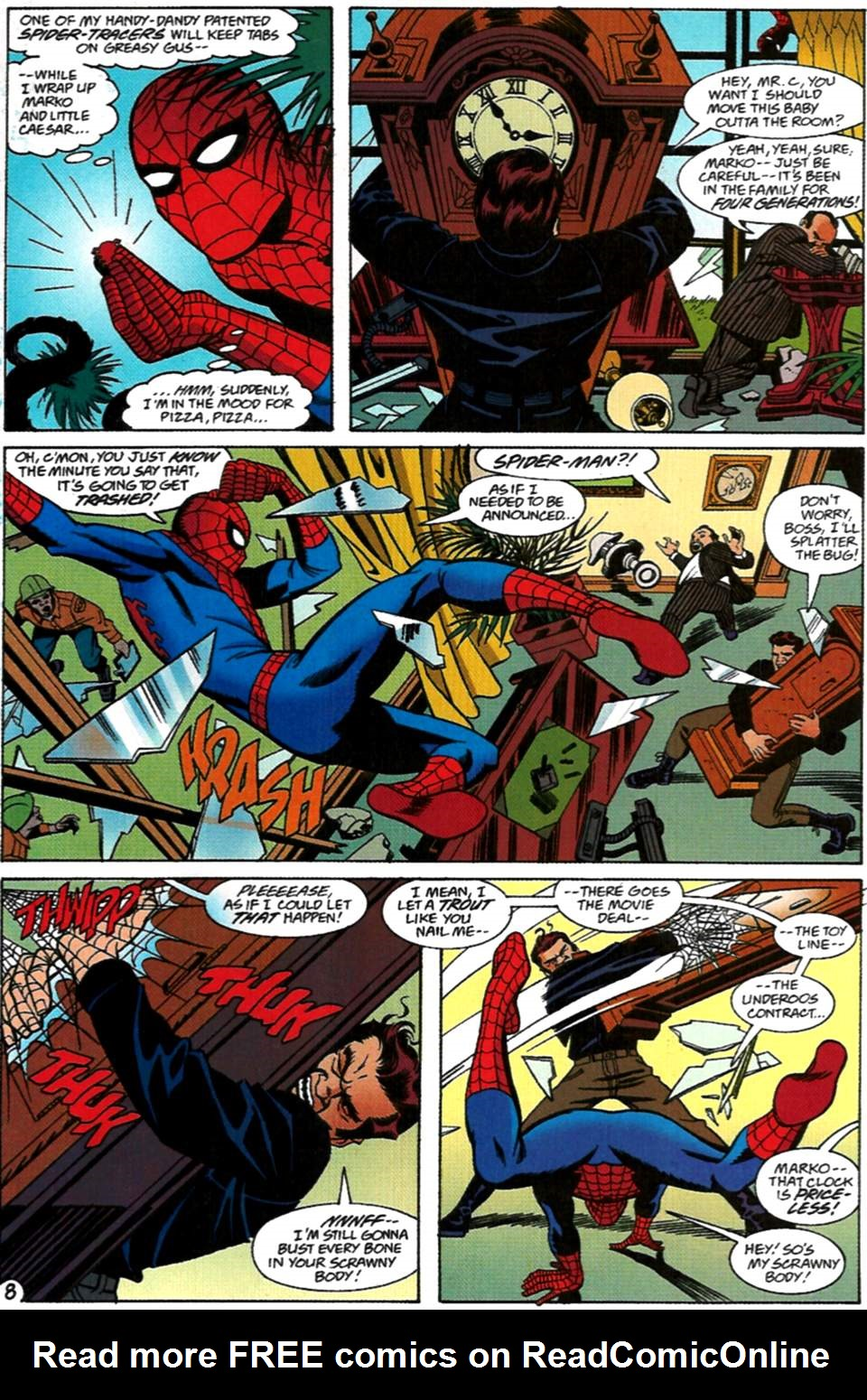Read online Spider-Man: Lifeline comic -  Issue #2 - 9