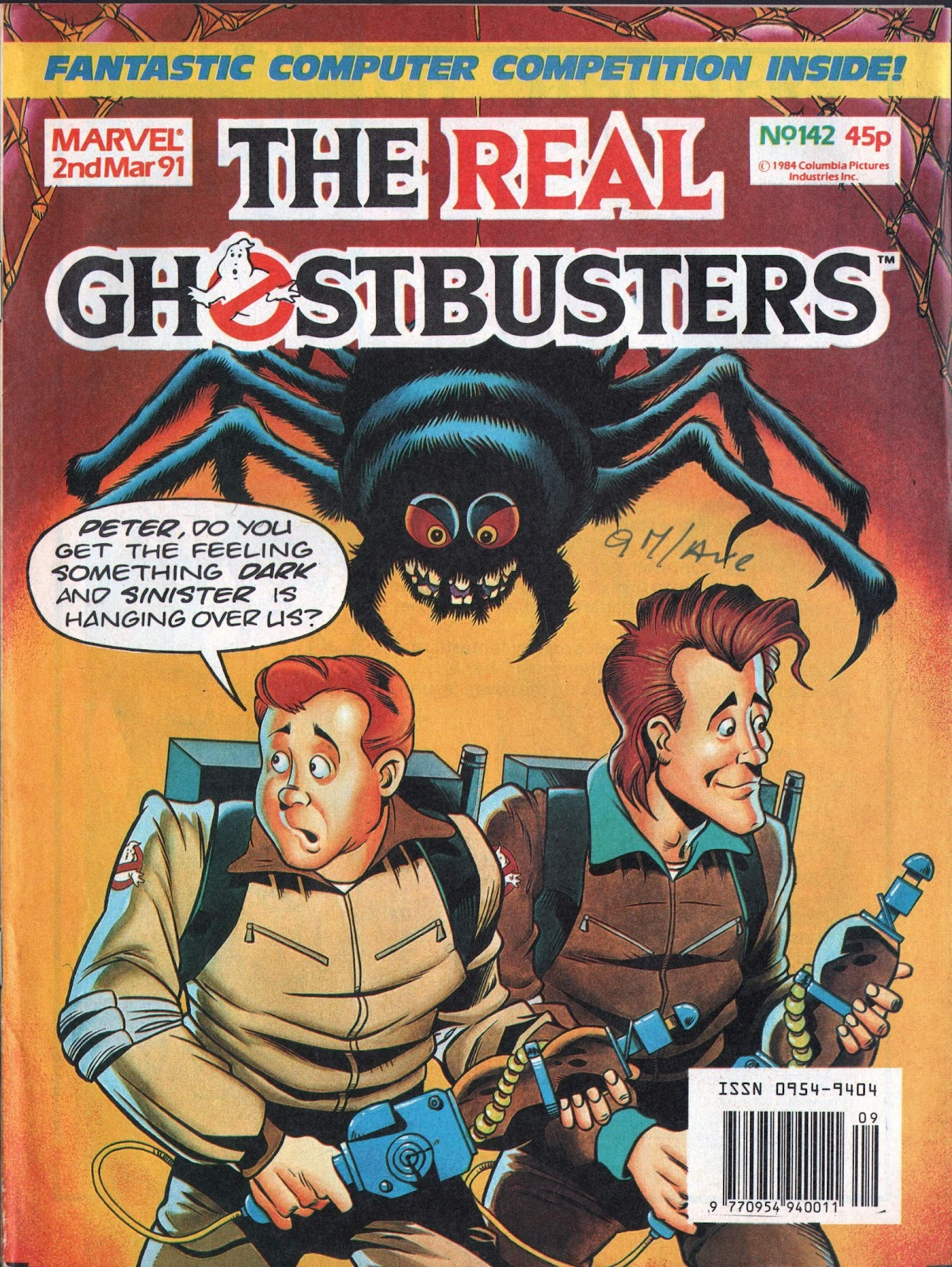 The Real Ghostbusters 142 Page 1