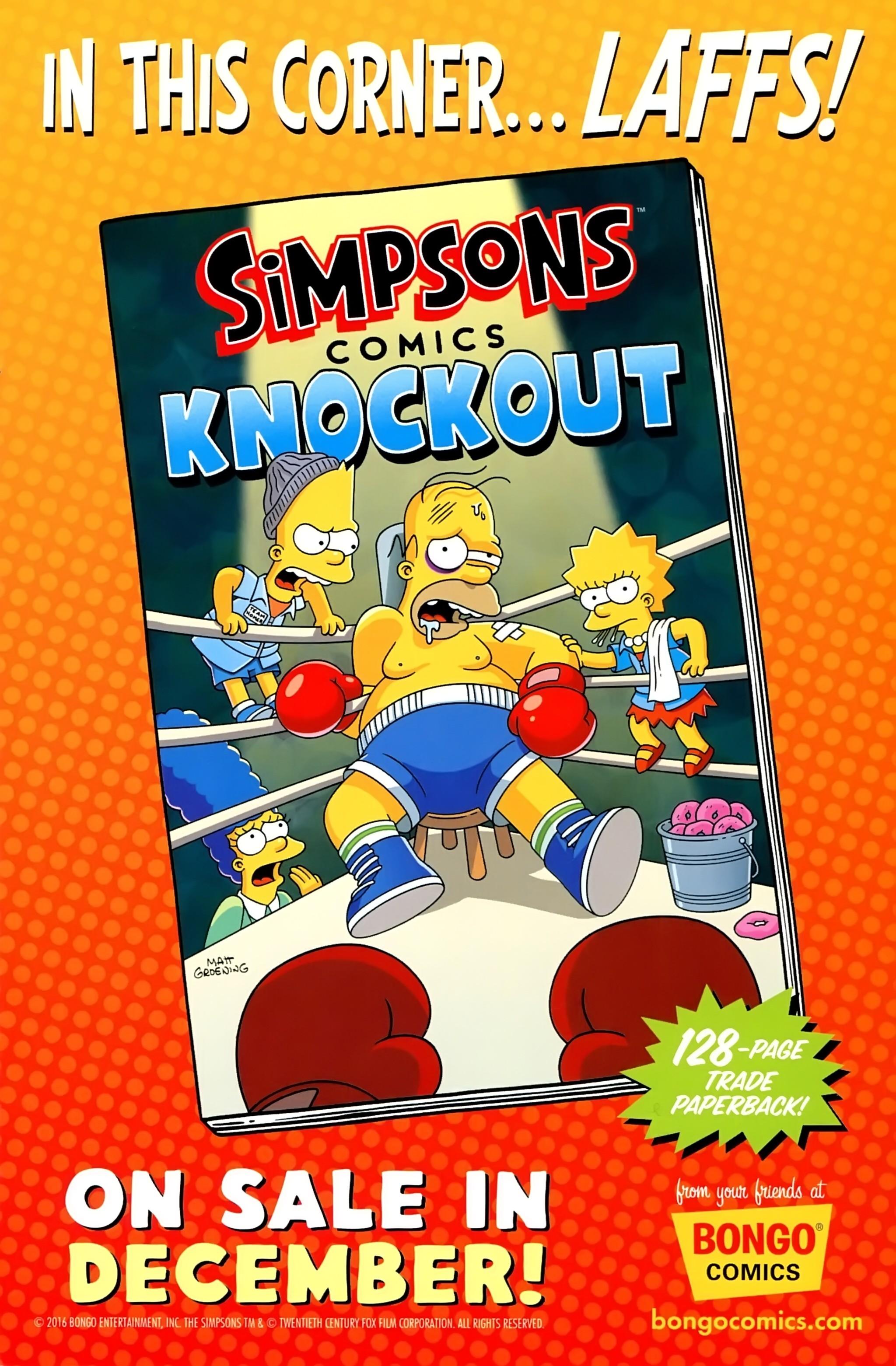 Read online Simpsons Comics comic -  Issue #234 - 31