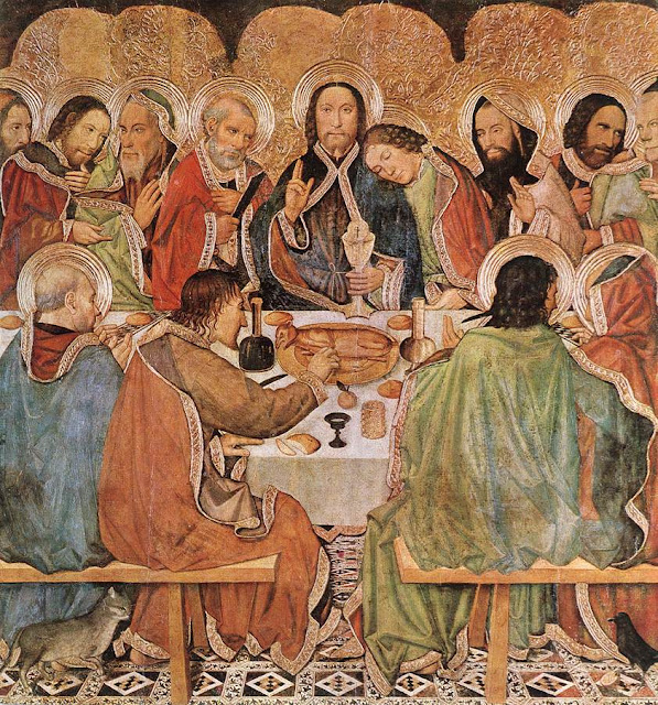 the early church fathers on eucharist in its relationship