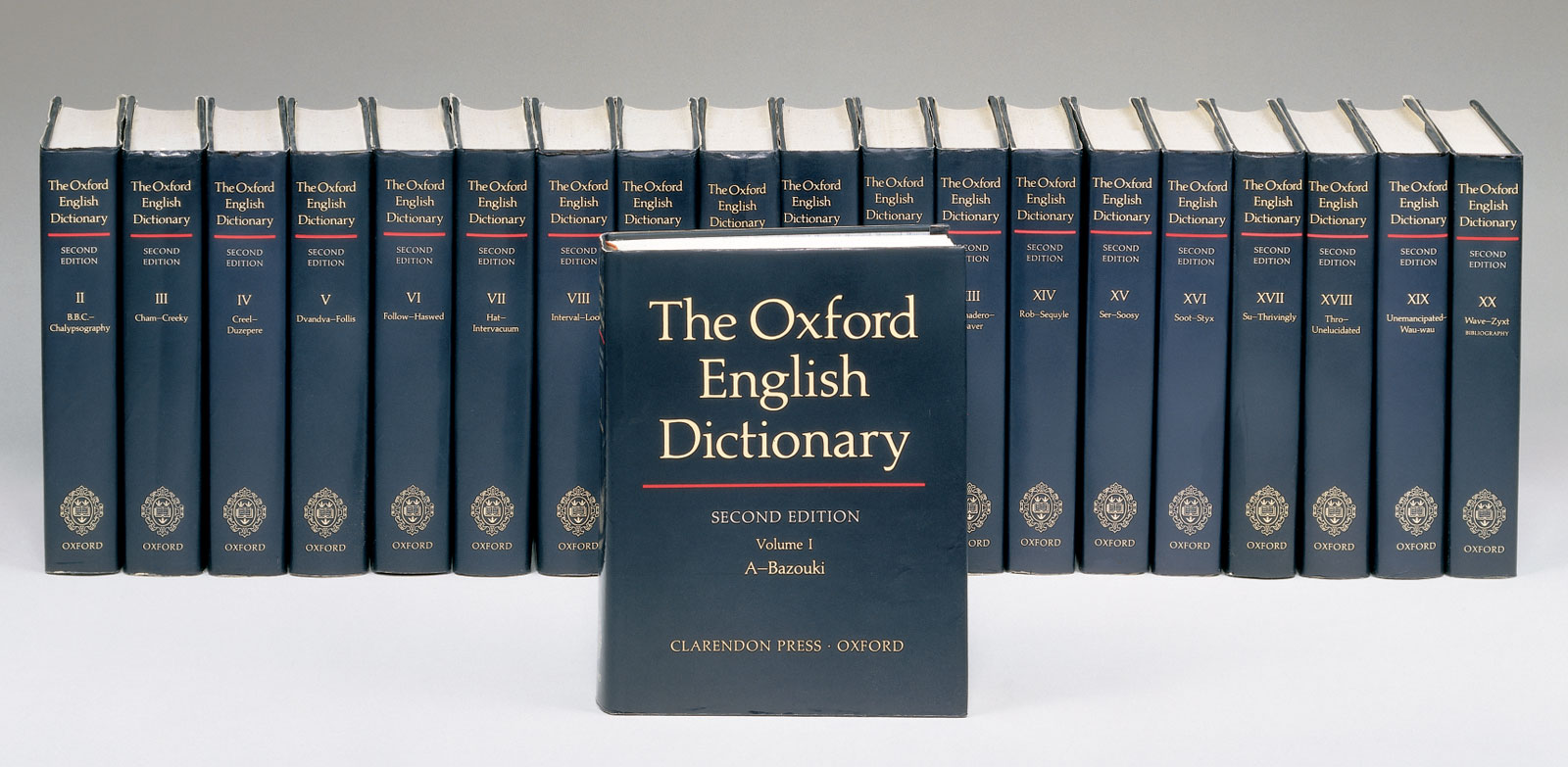 English In Italian: A Writer's Desk: RIP Oxford English Dictionary