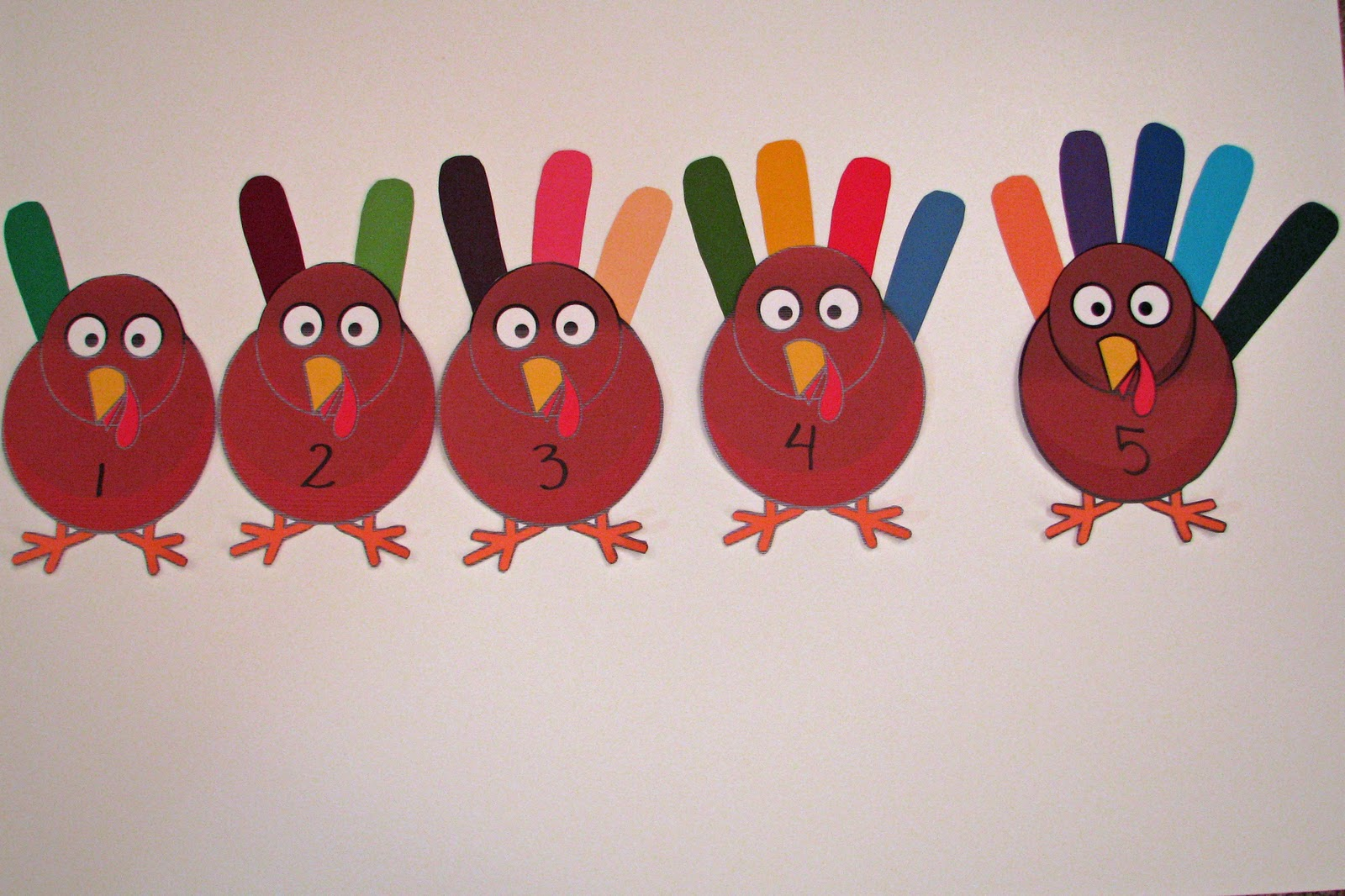 Mommy S Little Helper Turkey Feather Count