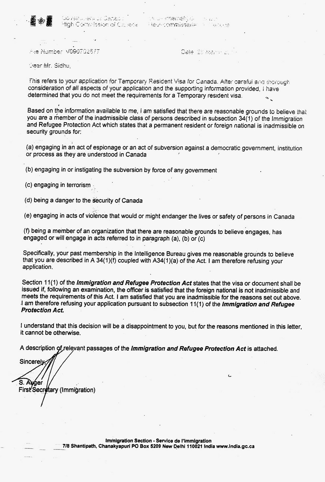 government of canada visa