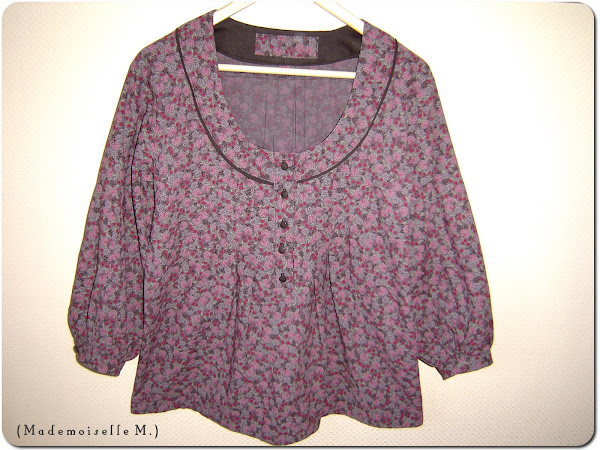 Blouse Burda #122 (01/2008)