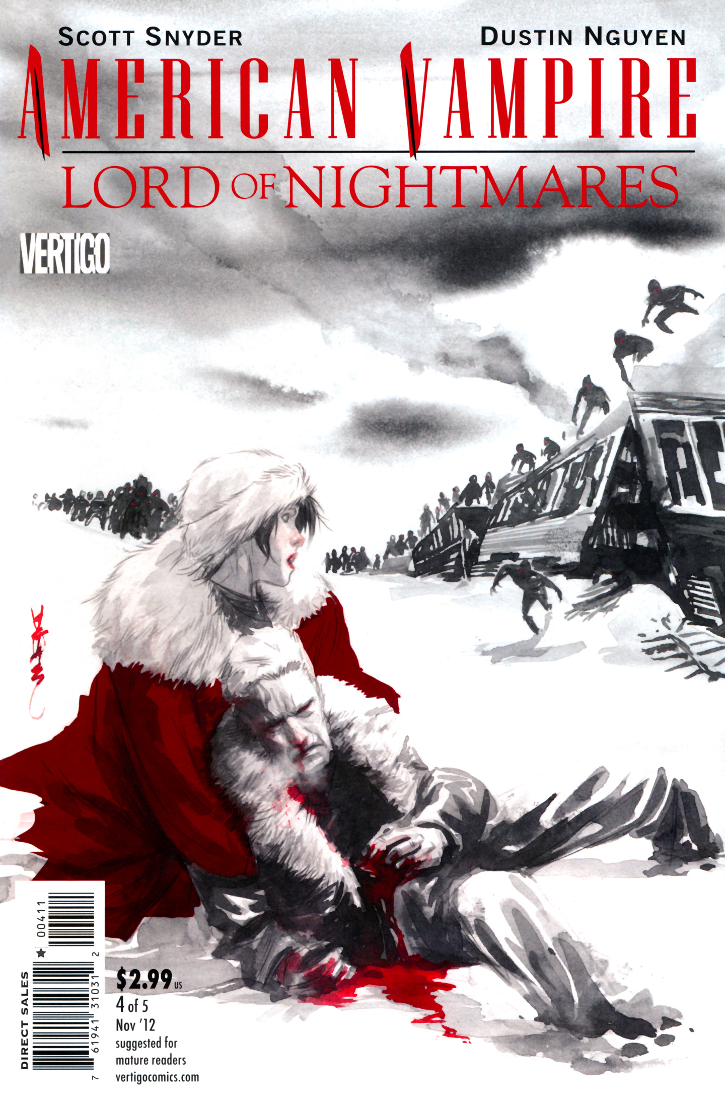 Read online American Vampire: Lord of Nightmares comic -  Issue #4 - 1