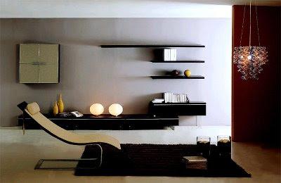 Niche livingroom