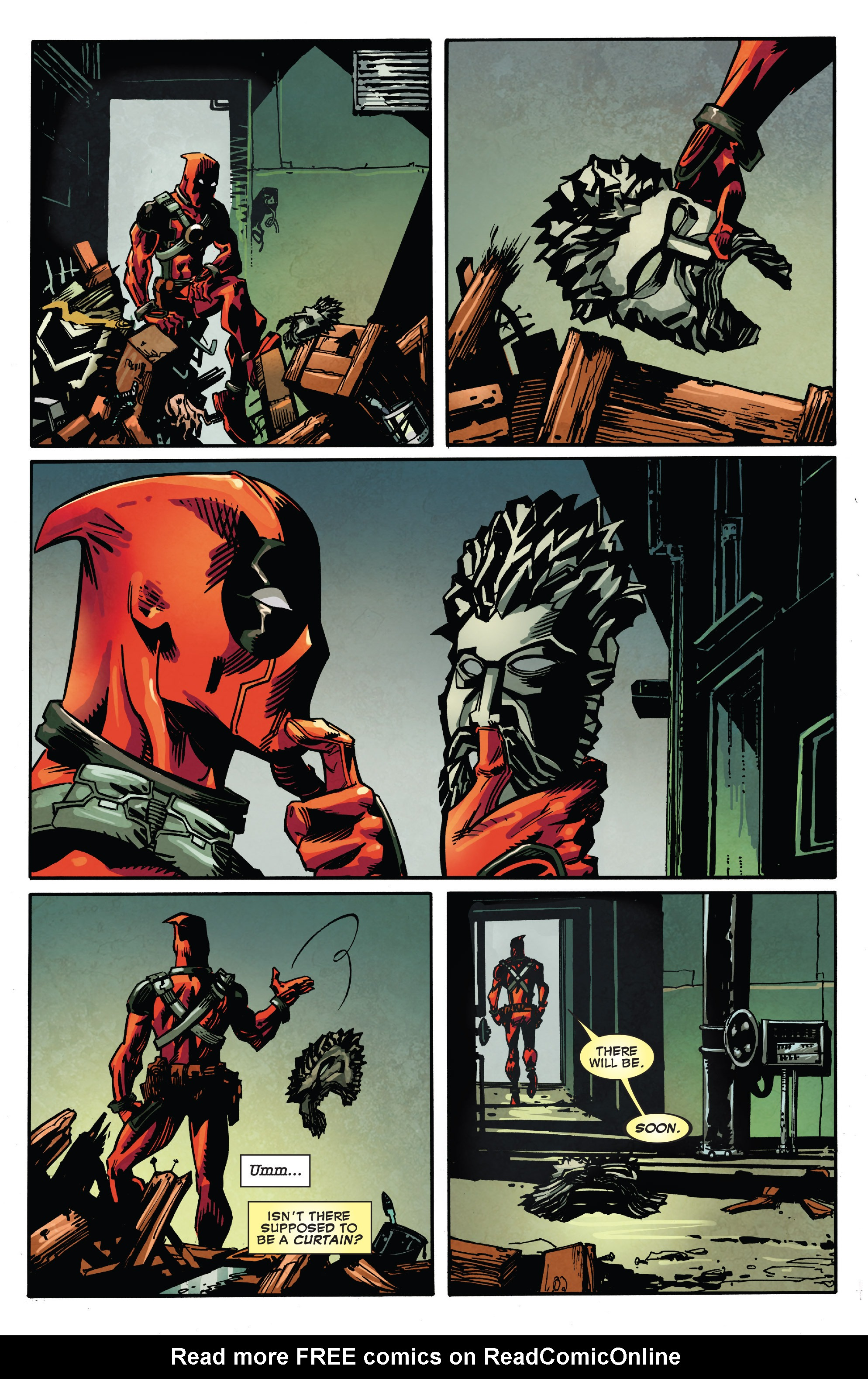 Read online True Believers: Deadpool the Musical comic -  Issue # Full - 22