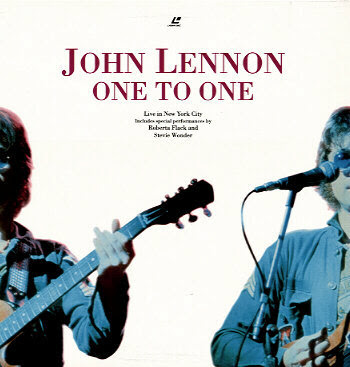 The One To One Concert Special Laser Disc
