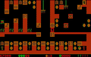 313039-pharaoh-s-tomb-dos-screenshot-the-game-seems-to-be-upset-with