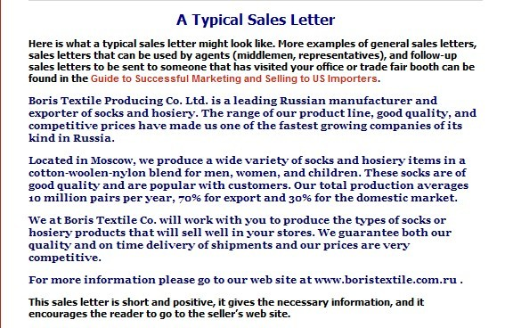 Business Communication What is legal in sales letters?