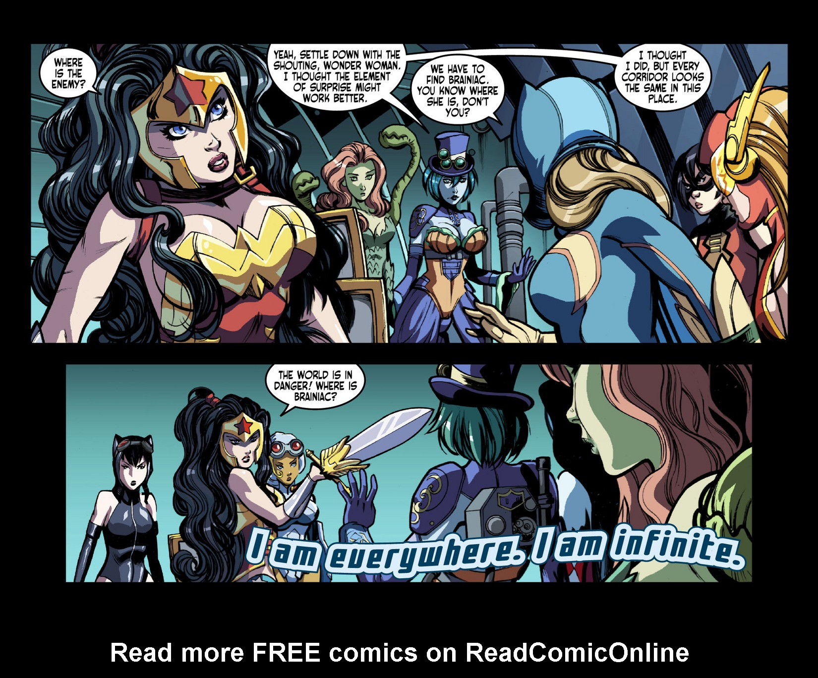 Read online Ame-Comi Girls comic -  Issue #4 - 5