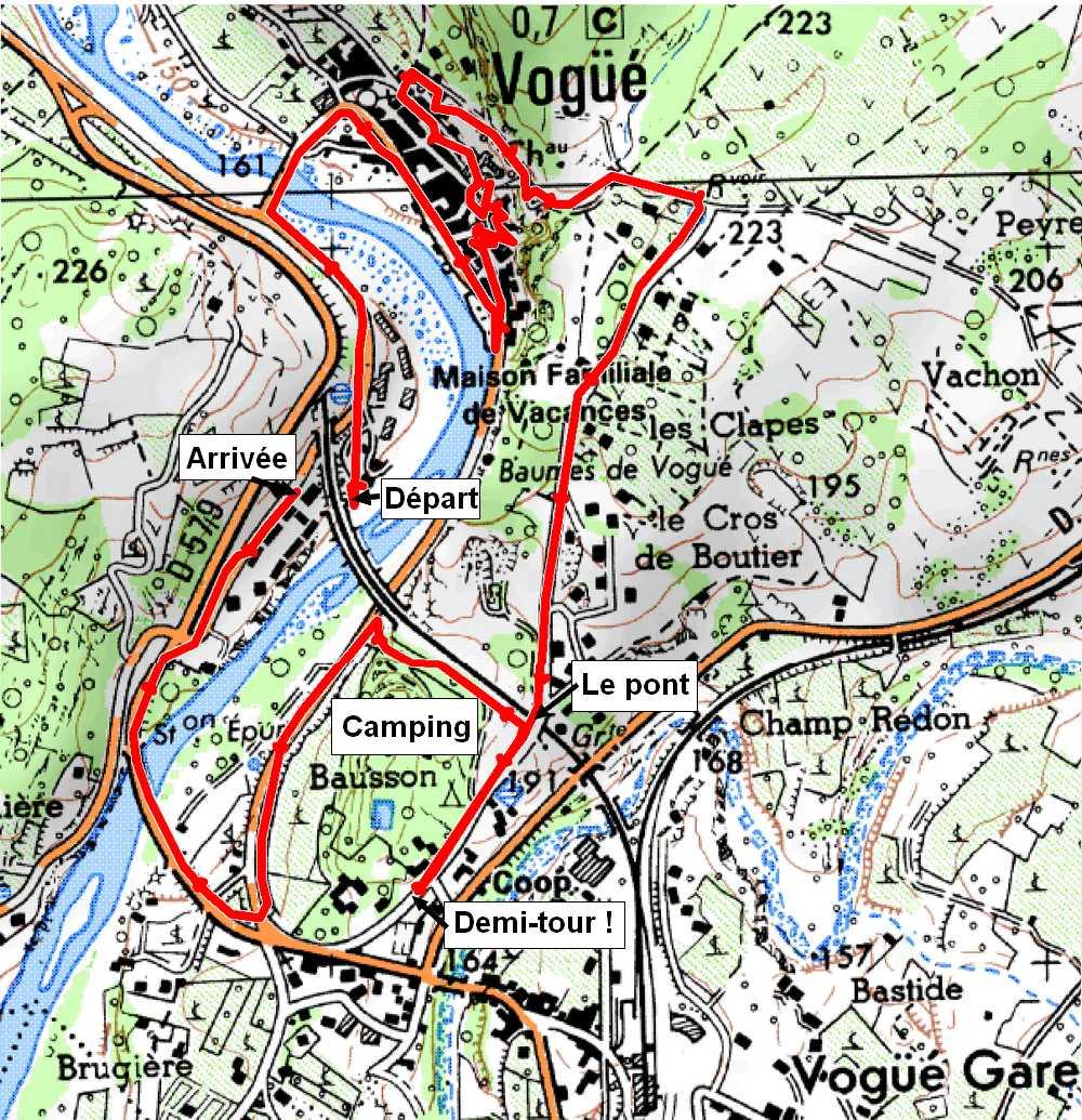 Chez georges vogue le village le depart - Chambre d hote mont gerbier de jonc ...