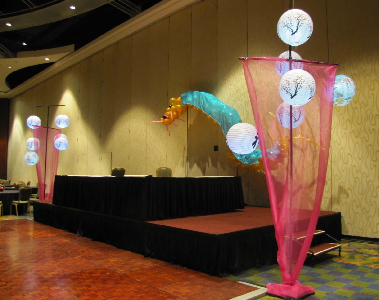 Party People Event Decorating Company Lake Gibson Prom 2010