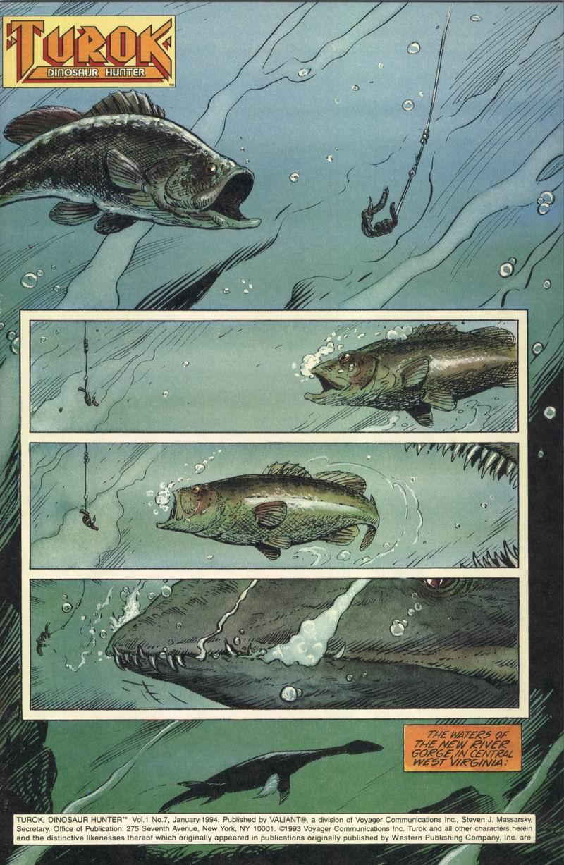 Read online Turok, Dinosaur Hunter (1993) comic -  Issue #7 - 2