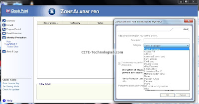 ZoneAlarm Pro Firewall Identity Protection