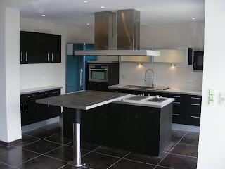cuisine bain dressing parquet cuisine americaine avec. Black Bedroom Furniture Sets. Home Design Ideas