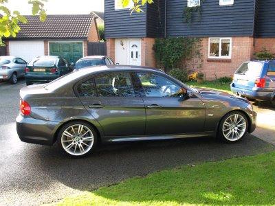 Index Car Modification Bmw E90 330d Sparkling Graphite M Sport Rims