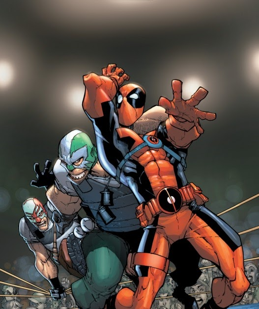 Preview Art From Deadpool Team-Up #898