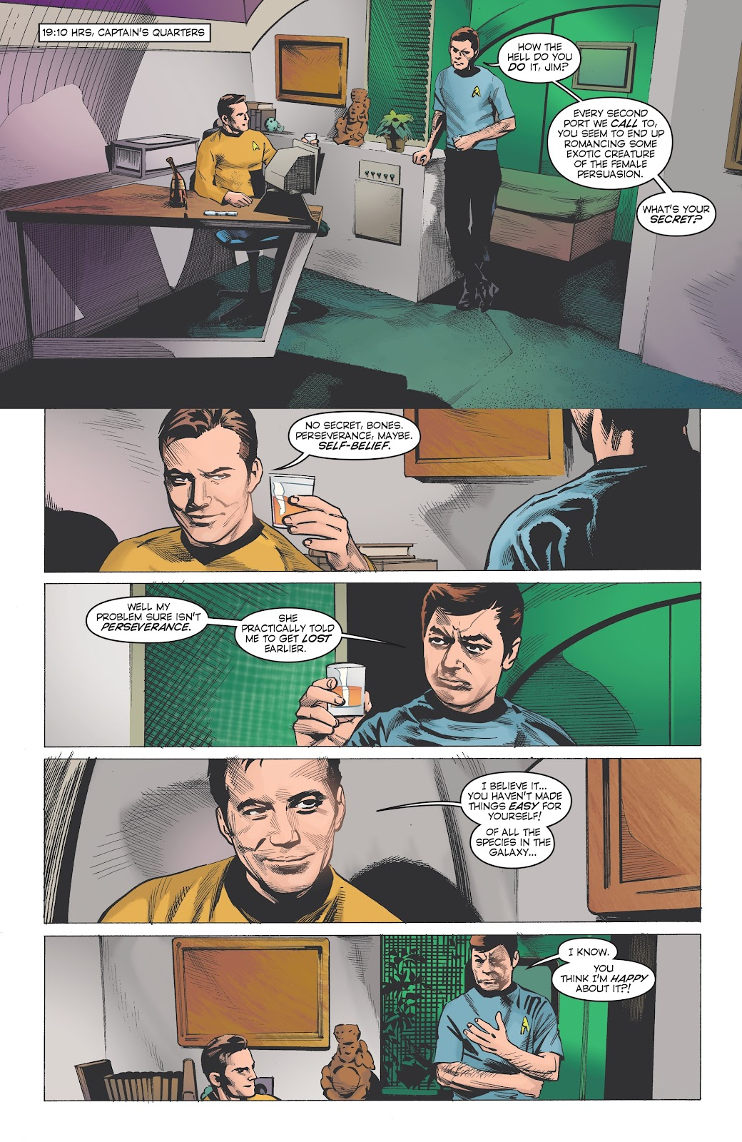 Read online Star Trek: Waypoint Special 2019 comic -  Issue # Full - 6