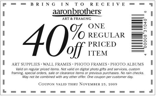 Magnificent Picture Frames Aaron Brothers Crest - Frames Ideas ...