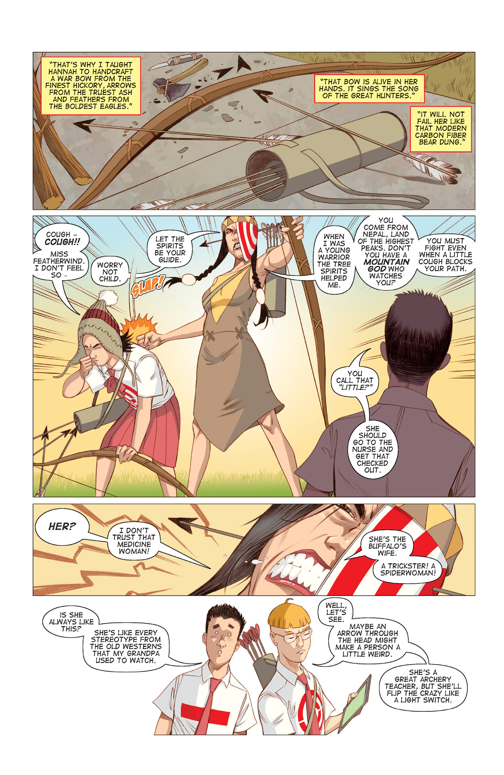 Read online Five Weapons comic -  Issue #7 - 23