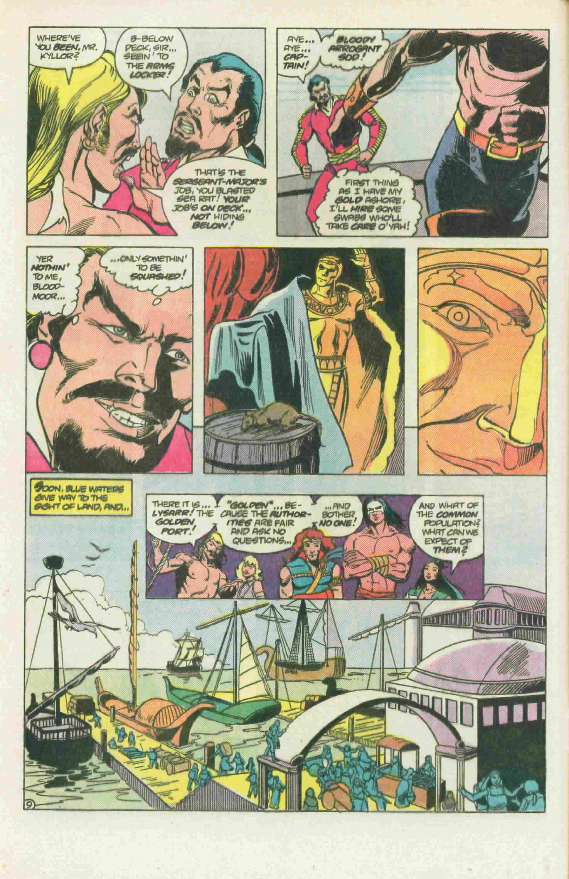 Read online Arion, Lord of Atlantis comic -  Issue #22 - 13