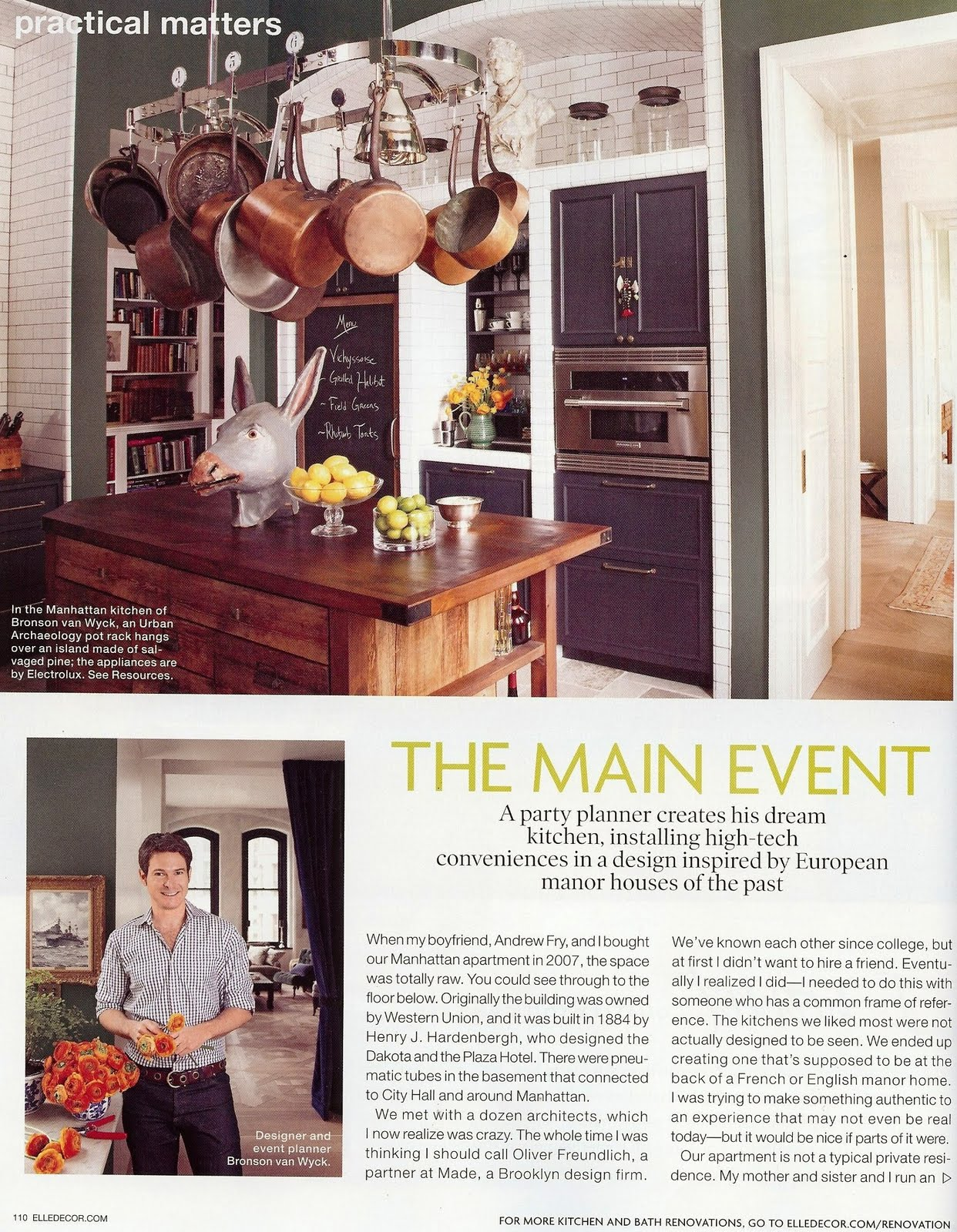 Elle Decor Kitchen