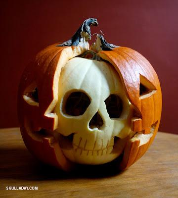 Pumpkin Anatomy Skull
