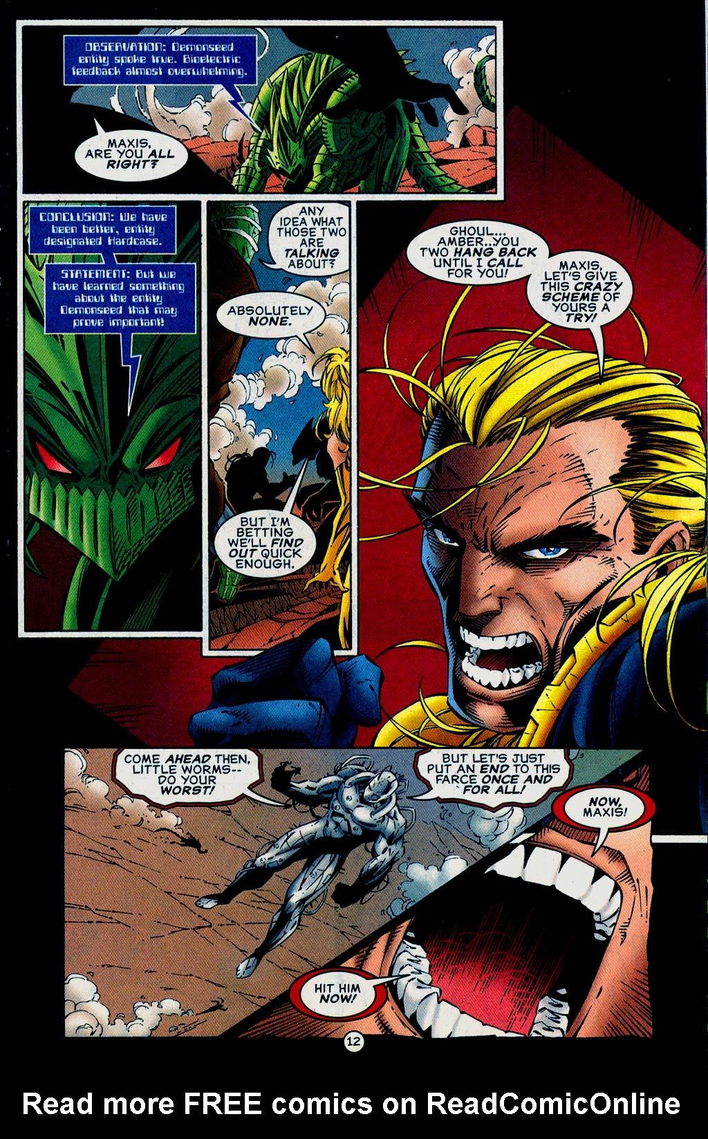 Read online UltraForce (1995) comic -  Issue #15 - 13
