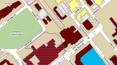Texas Am Campus Map.Maps Mania Texas A M University On Google Maps