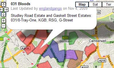 Google London Map.Maps Mania Gangs Of London On Google Maps