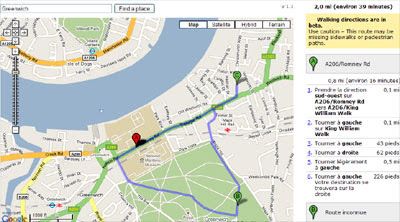 maps mania plan your run with google maps