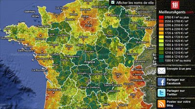 Maps Mania: French Property Prices on Google Maps on heat map excel template, heat map technology, heat map gis, heat map chart, heat map calendar, heat map software,
