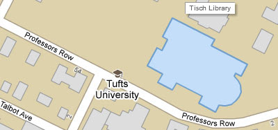 Tufts Medford Campus Map.Maps Mania Universities On Google Maps