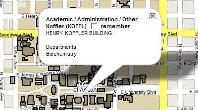 Map University Of Arizona.Maps Mania University Of Arizona Google Map