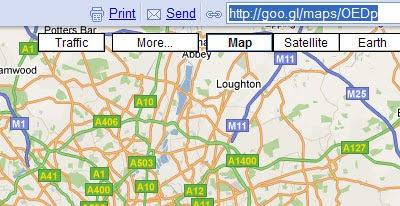 Maps Mania: Google Maps Gets Short URL's on google plus link, google share link, google short list, google web link,