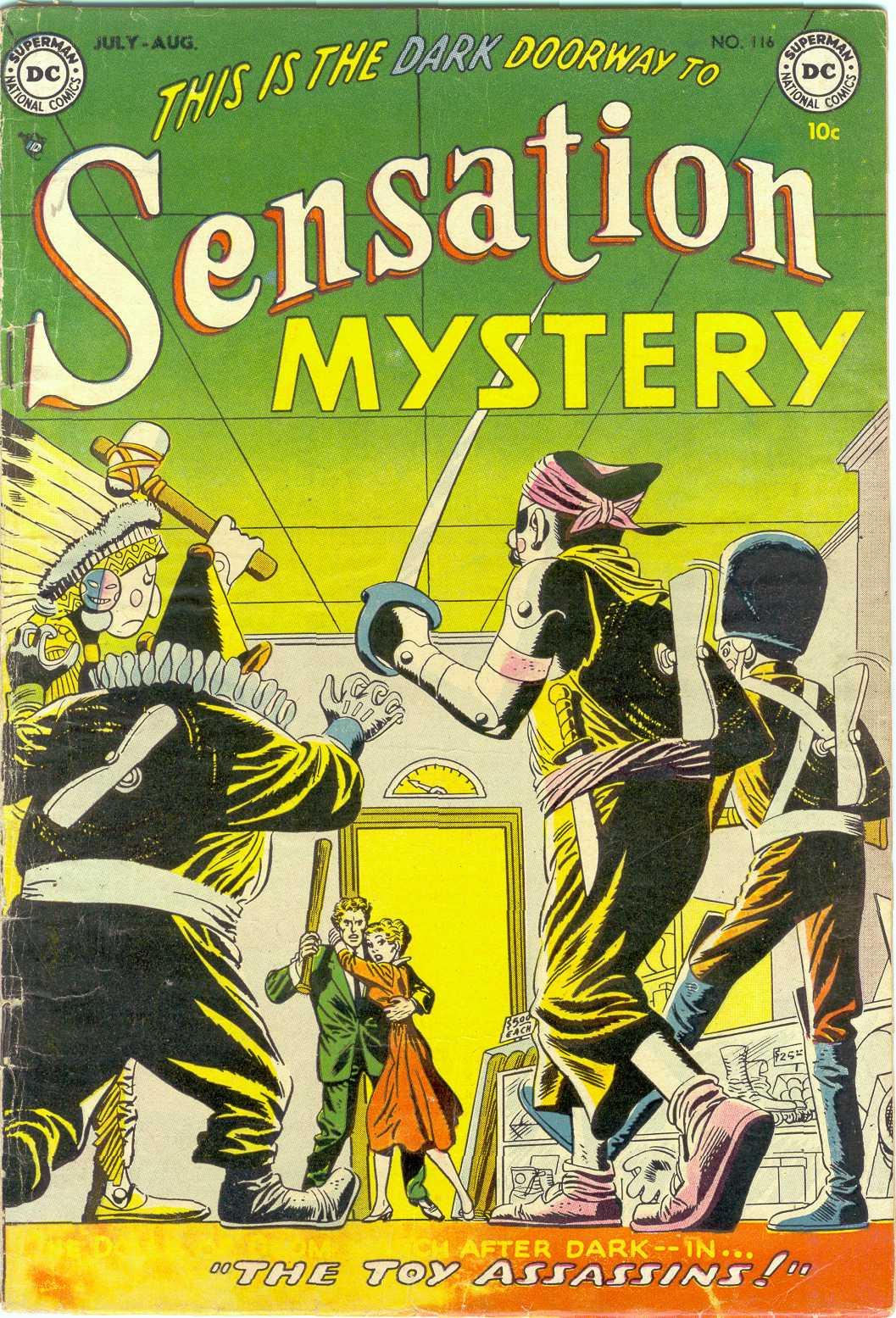 Sensation (Mystery) Comics 116 Page 1