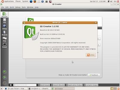 Qteveloper: Install and Uninstall Qt Creator 1 3 Beta on