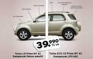 Ucuz Jip Özellikleri ve Fiyatları - Daihatsu Terios